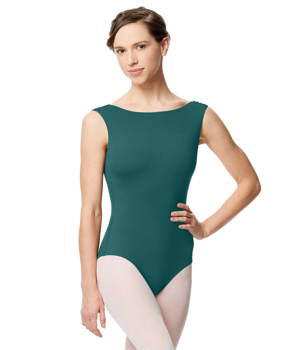 Adult Microfiber Low Back Tank Leotard Katia TEA