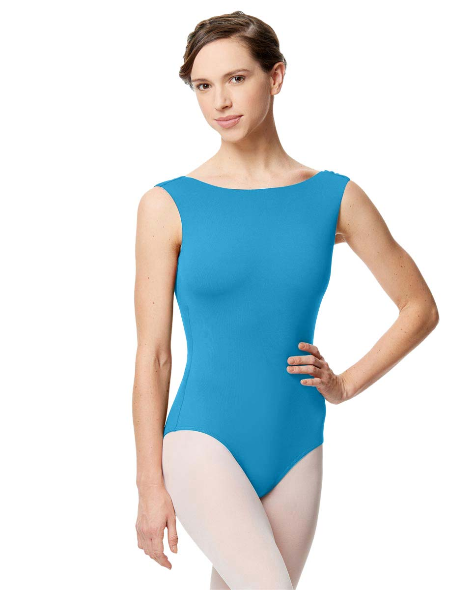 Adult Microfiber Low Back Tank Leotard Katia TUR