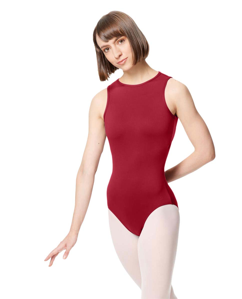 Adult Microfiber Strapy Back Tank Leotard Edonia DRED