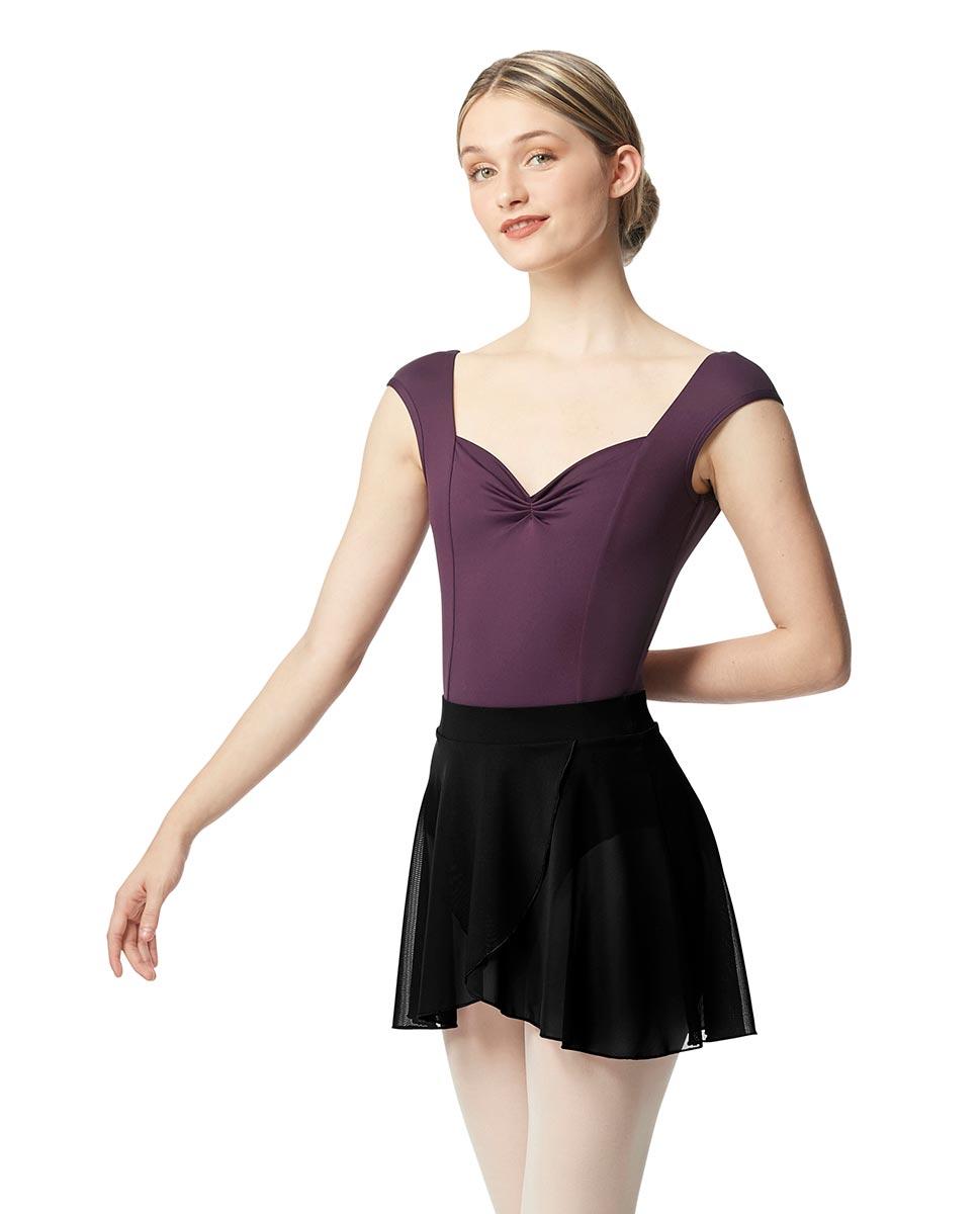 Pull on Dance Skirt Natasha BLK