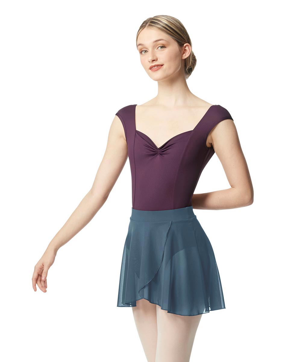 Pull on Dance Skirt Natasha BLUE