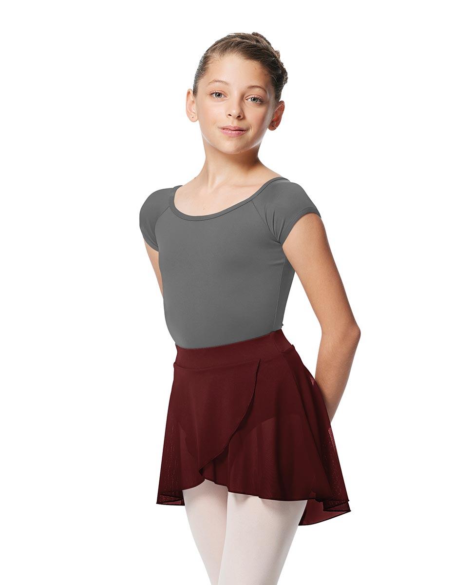 Child Pull on Wrap Dance Skirt Natasha BUR