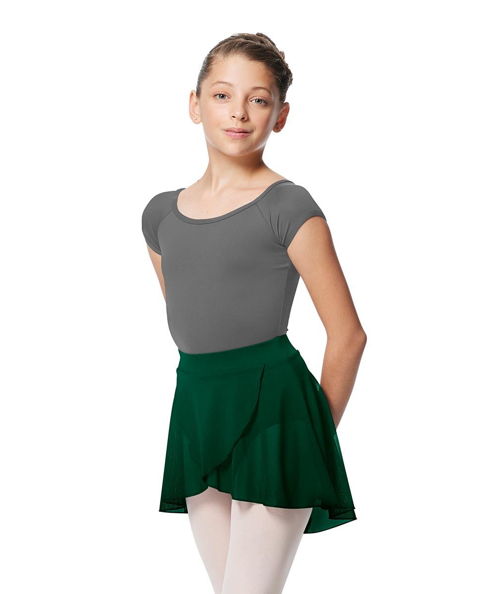 Child Pull on Wrap Dance Skirt Natasha DGREEN