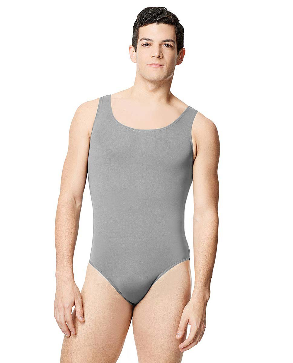 Mens Microfiber Scoop Neckline Tank Leotard Tayelor GRE