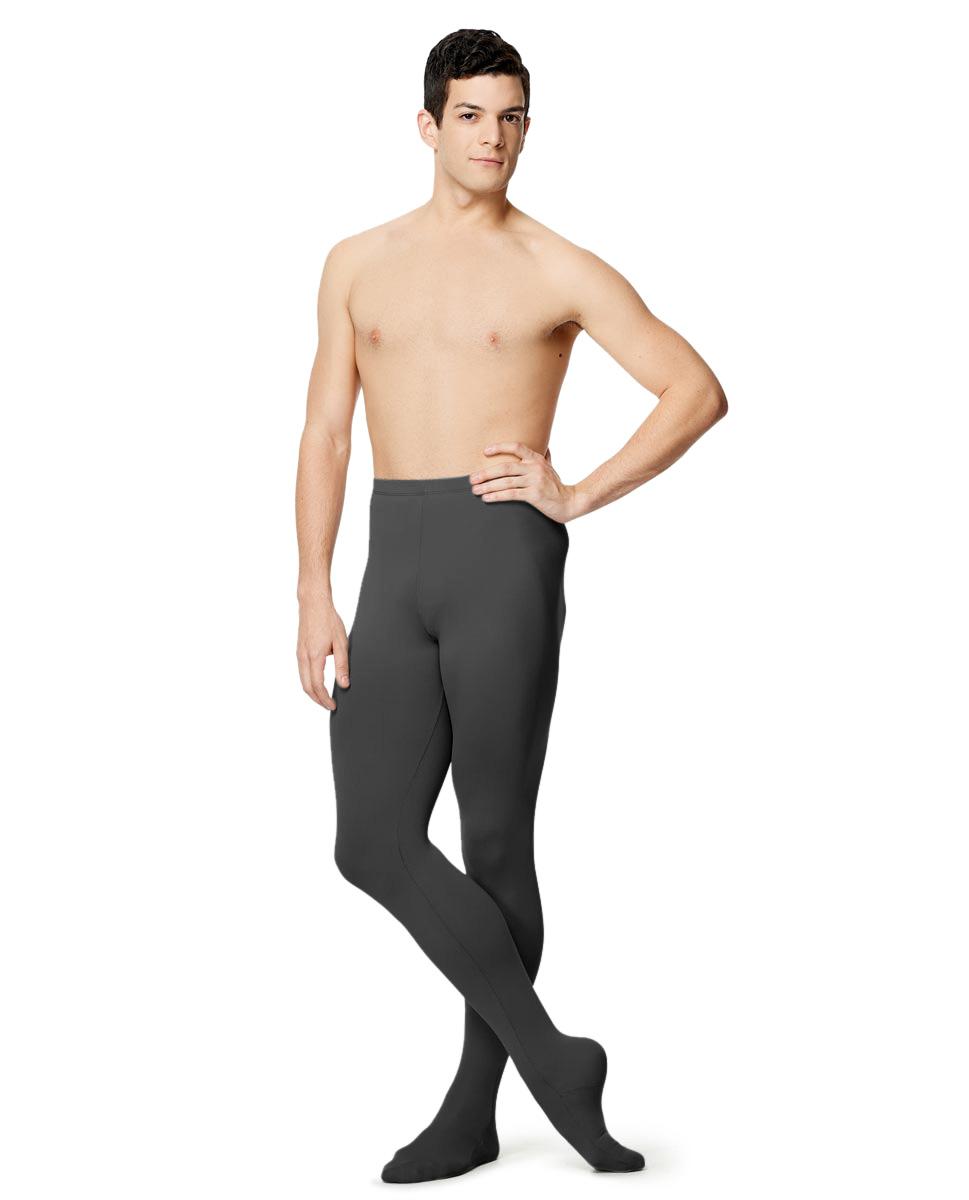 Mens Microfiber Footed Leggings Raphael DGRE