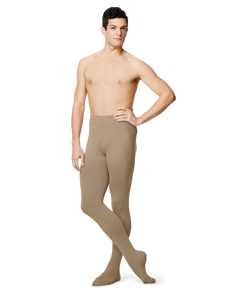 Mens Microfiber Footed Leggings Raphael NUD