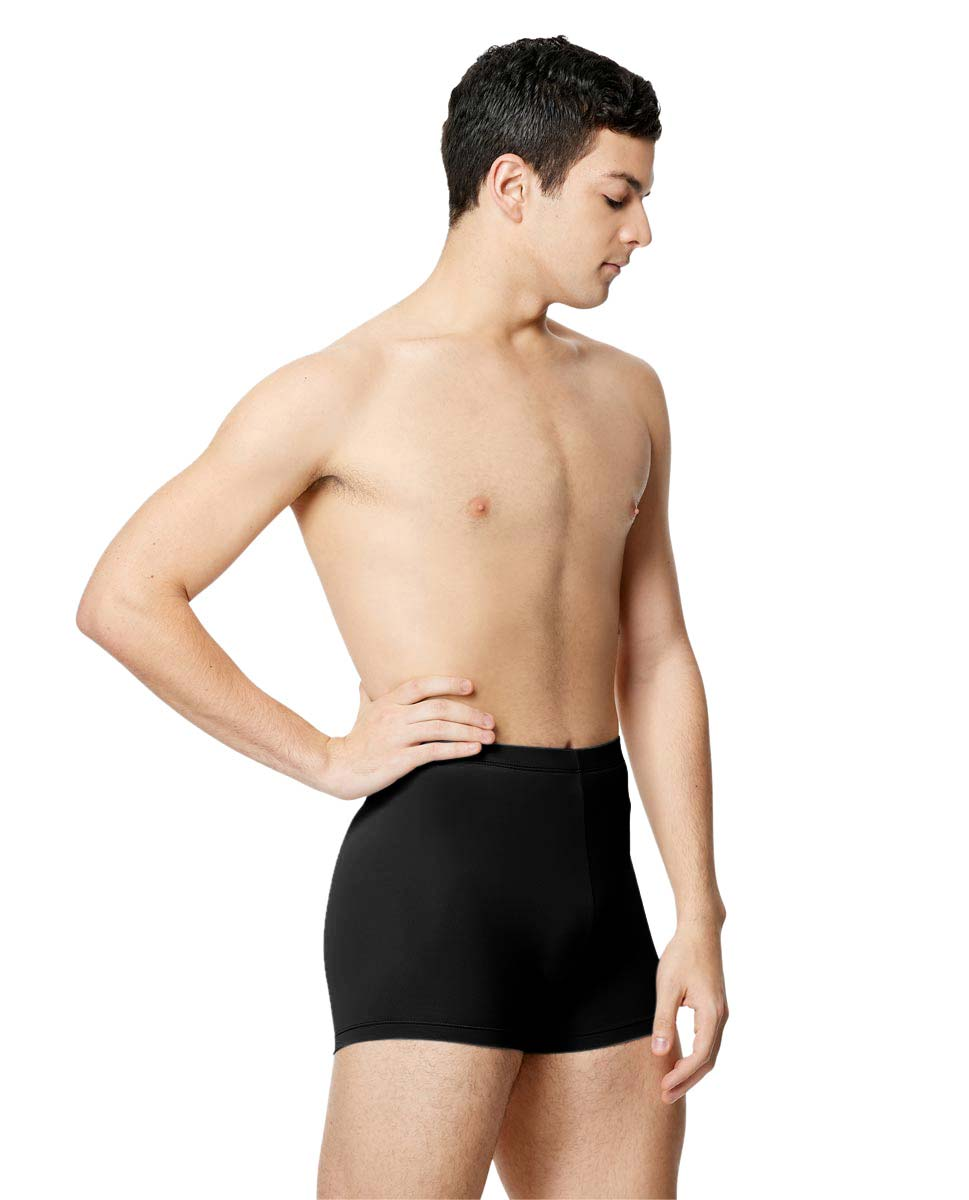 Mens Microfiber Cycle Shorts Ranier  BLK