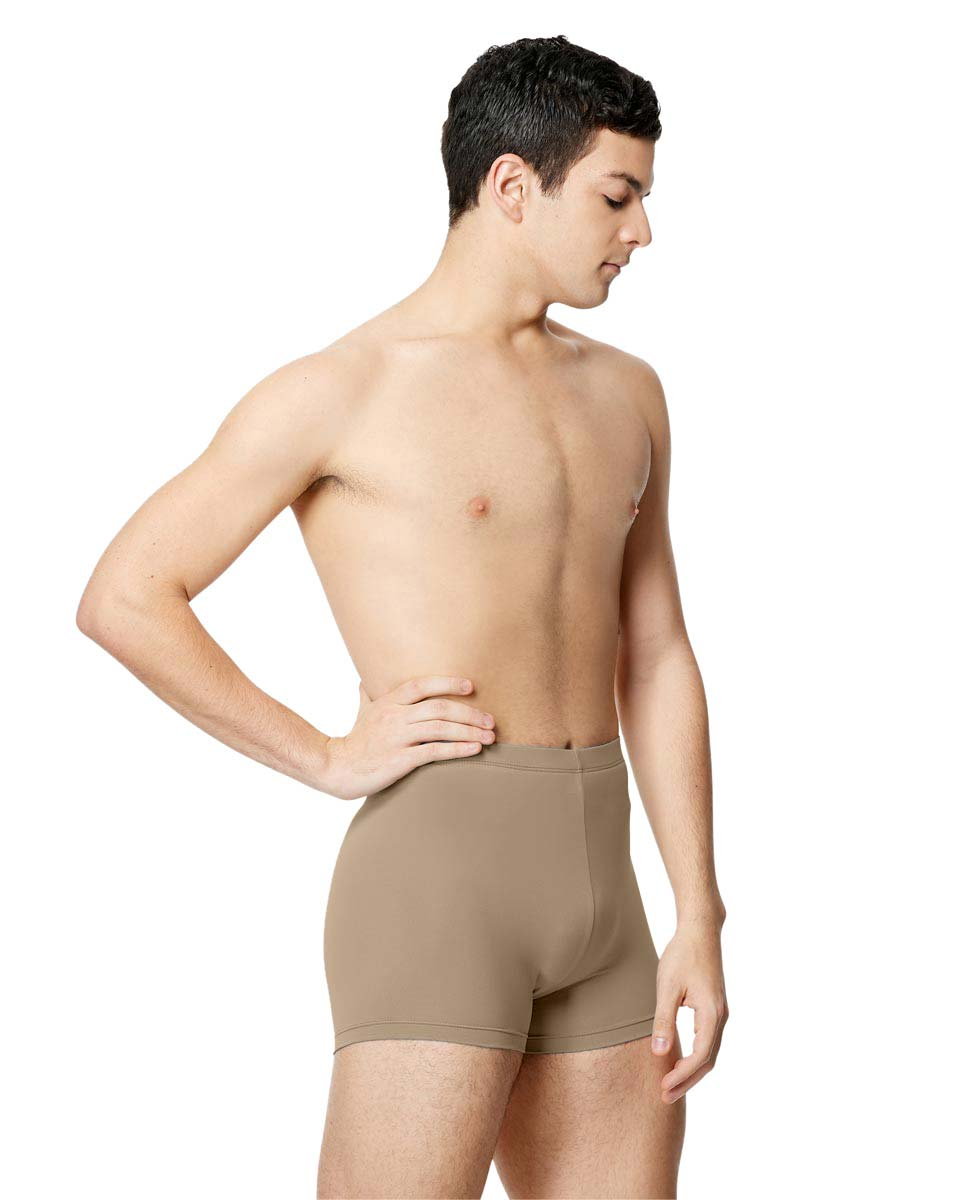 Mens Microfiber Cycle Shorts Ranier  NUD