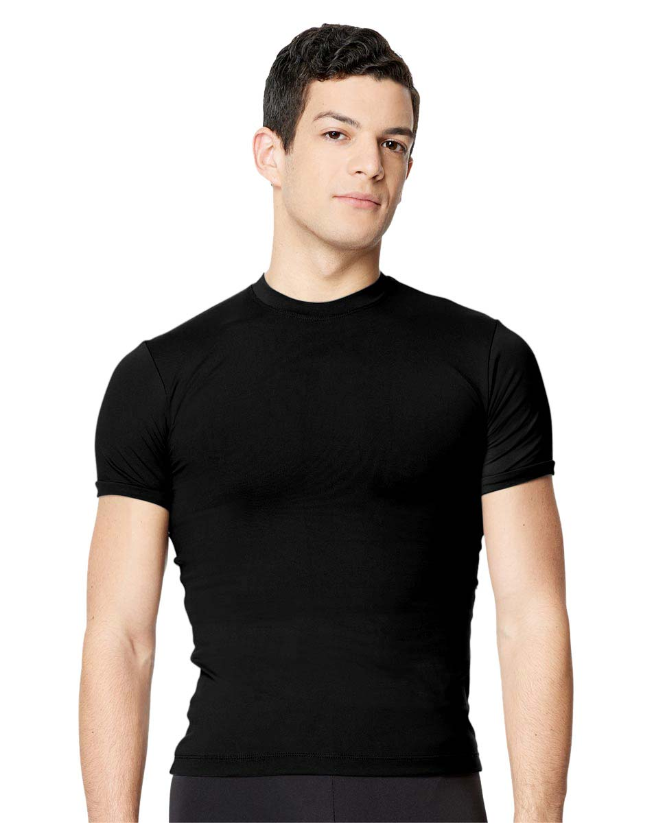 Short Sleeve Dance Top Ferdinand For Men BLK