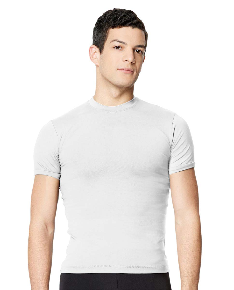 Short Sleeve Dance Top Ferdinand For Men WHI
