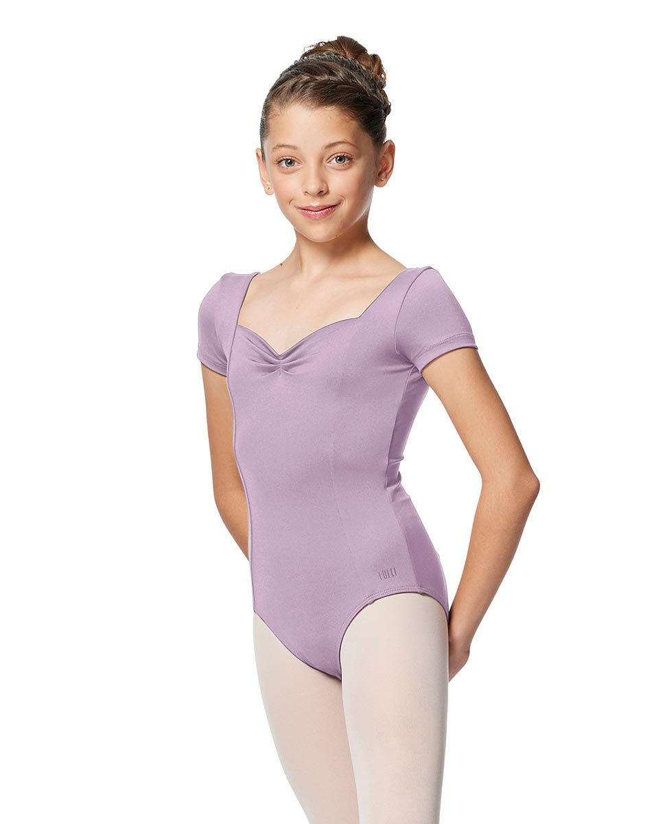 Girls Short Sleeves Ballet Leotard Anfisa LIL