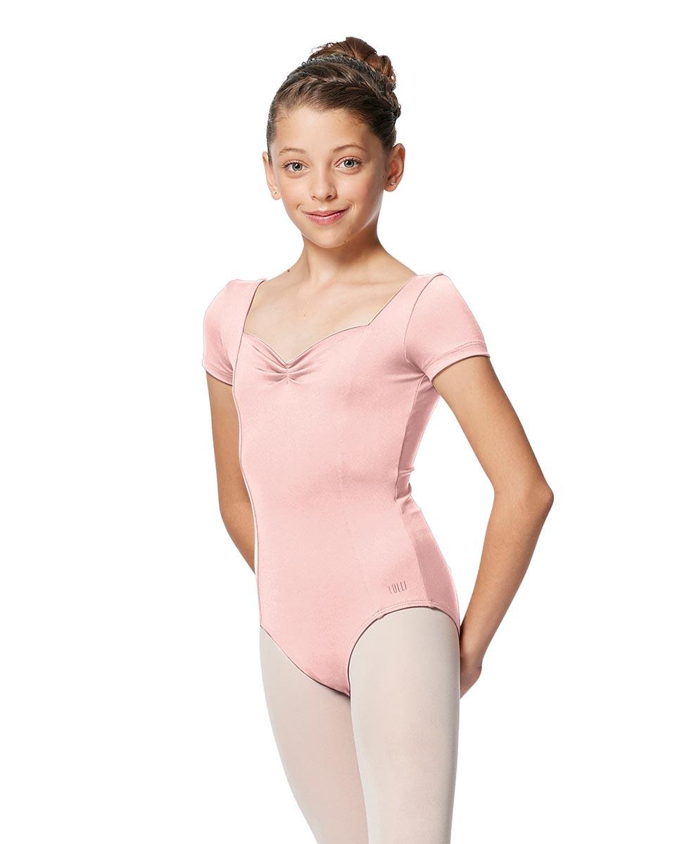 Girls Short Sleeves Ballet Leotard Anfisa LPNK