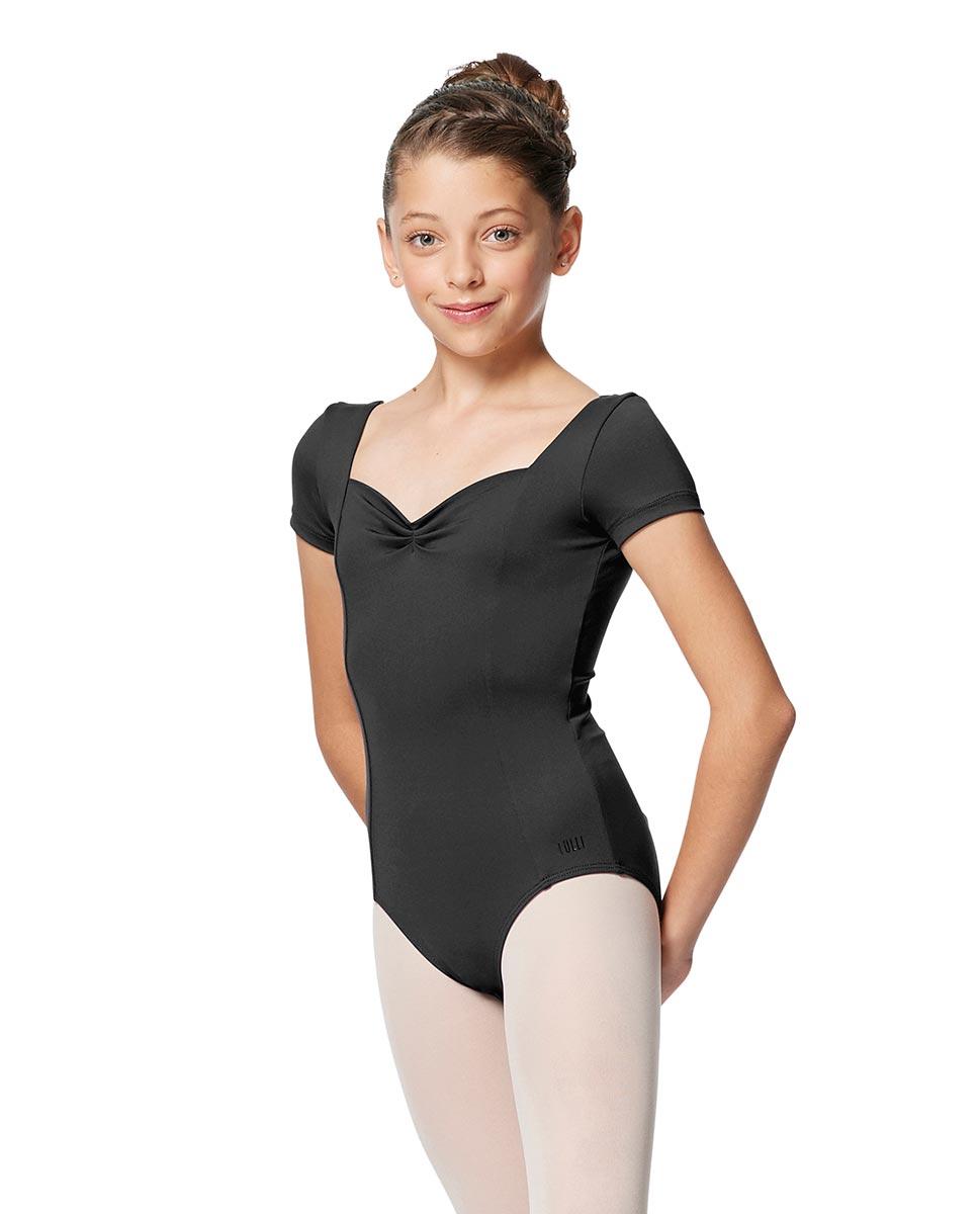 Girls Short Sleeves Ballet Leotard Anfisa DGRE