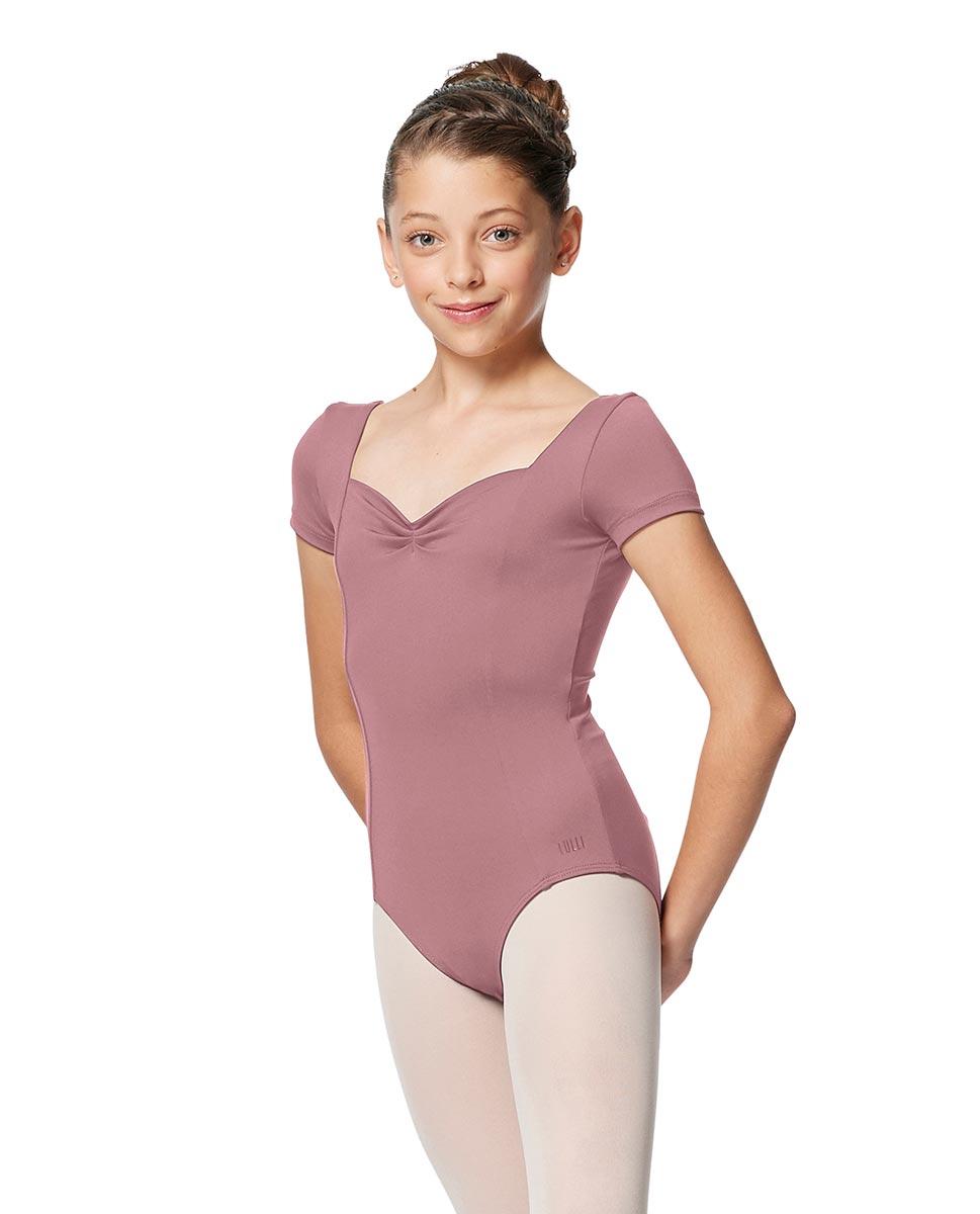 Girls Short Sleeves Ballet Leotard Anfisa DROS