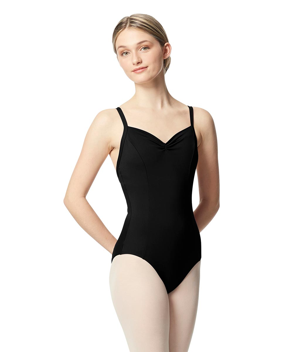 Open Back Camisole Ballet Leotard Darya BLK