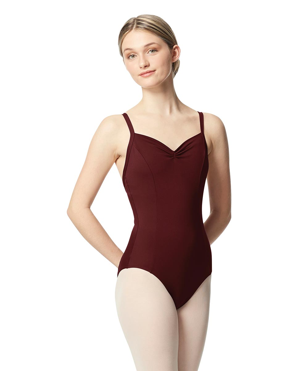 Open Back Camisole Ballet Leotard Darya BUR
