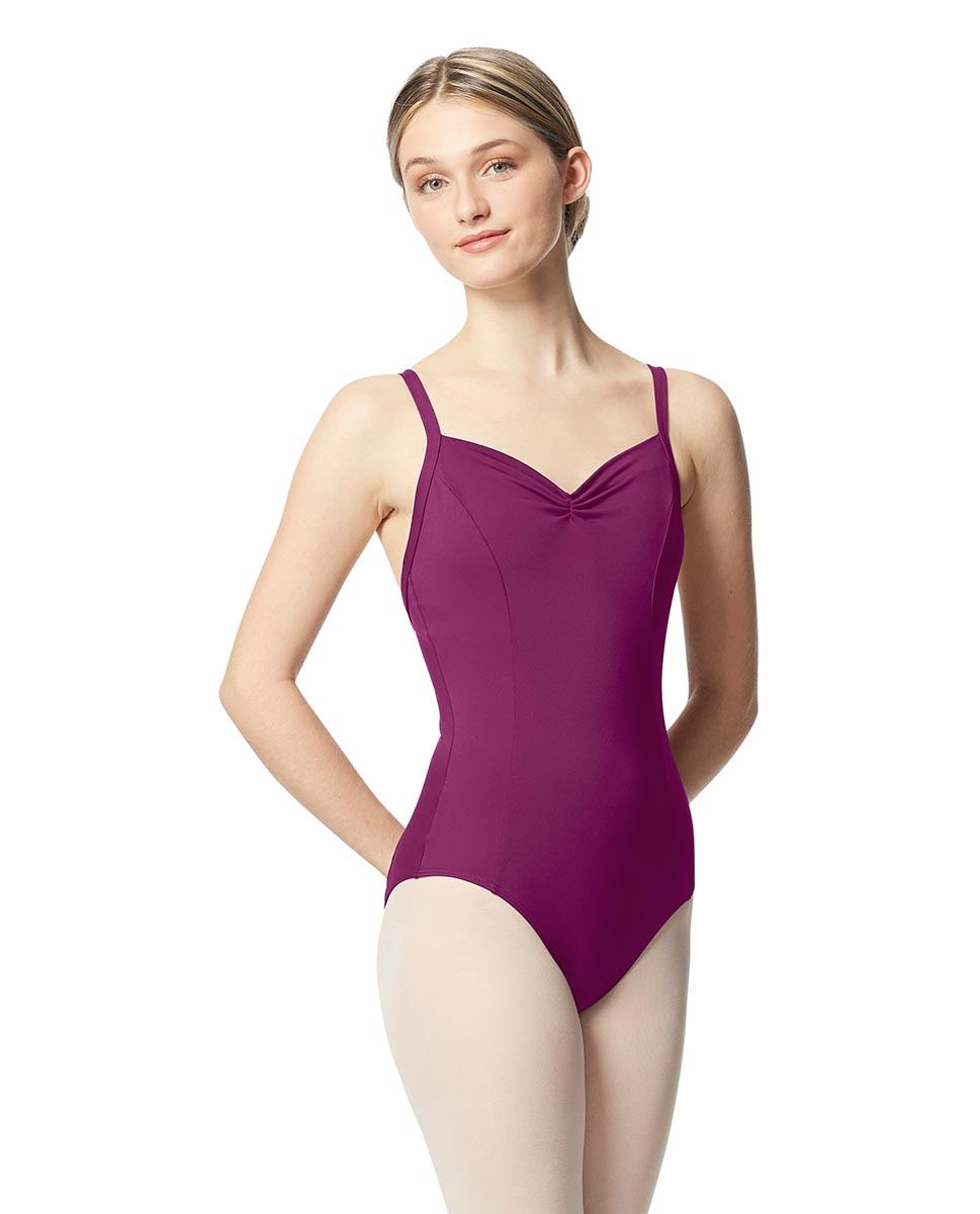 Open Back Camisole Ballet Leotard Darya GRAP