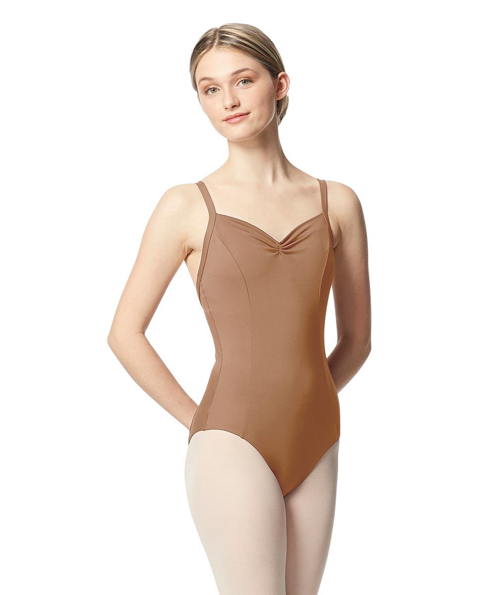 Open Back Camisole Ballet Leotard Darya NUD