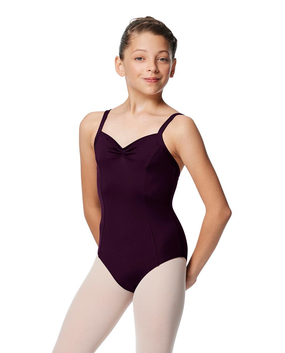Girls Open Back Camisole Ballet Leotard Darya AUB