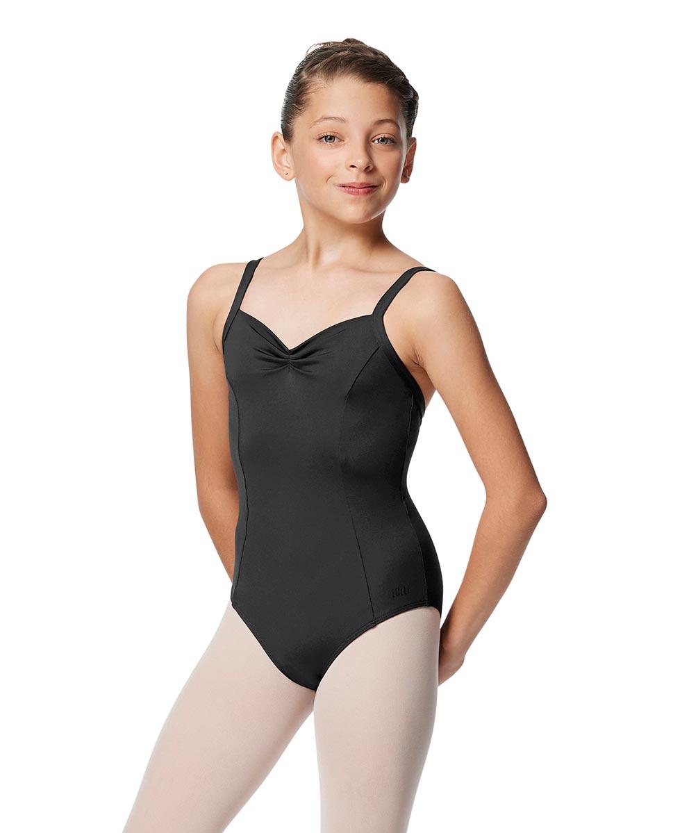 Girls Open Back Camisole Ballet Leotard Darya DGRE