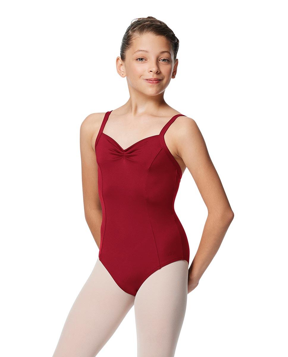 Girls Open Back Camisole Ballet Leotard Darya DRED
