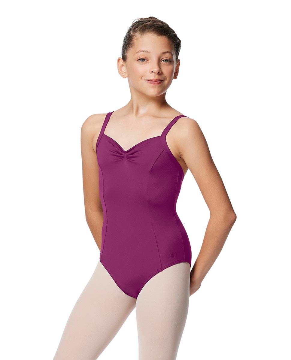 Girls Open Back Camisole Ballet Leotard Darya GRAP