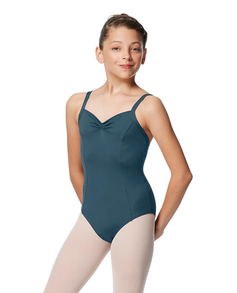 Girls Open Back Camisole Ballet Leotard Darya JEANS