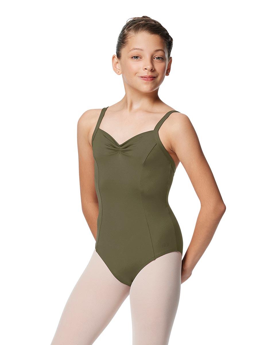 Girls Open Back Camisole Ballet Leotard Darya KHA
