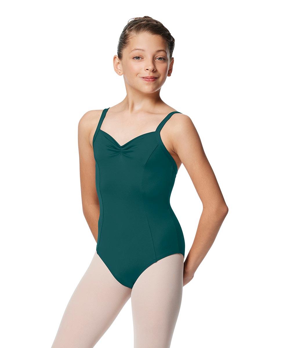 Girls Open Back Camisole Ballet Leotard Darya TEA