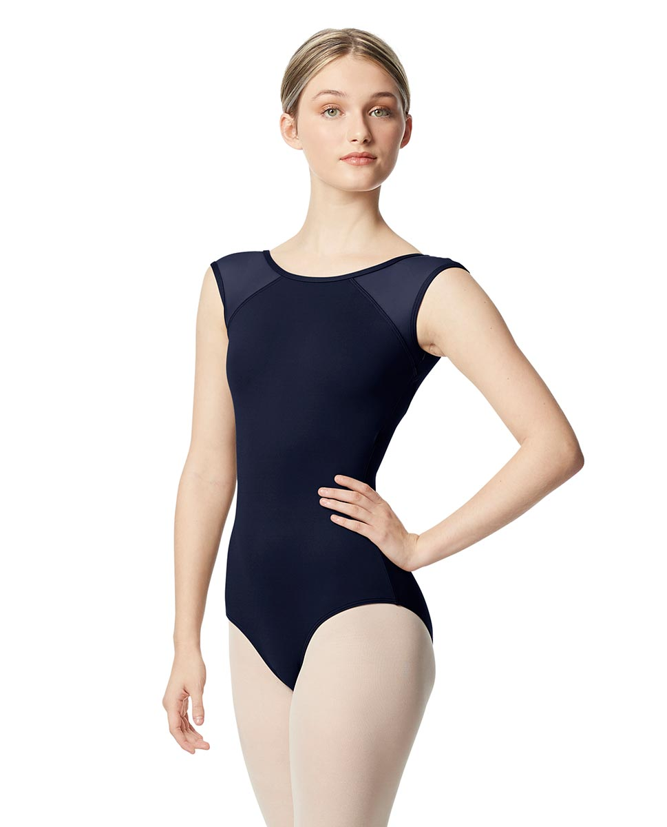 Mesh Cap Sleeve Leotard Nikita  NAY