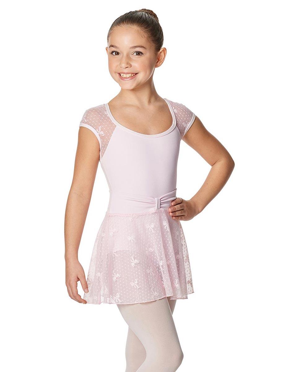 Girls Mesh Waistband Skirt Jasmine PNK