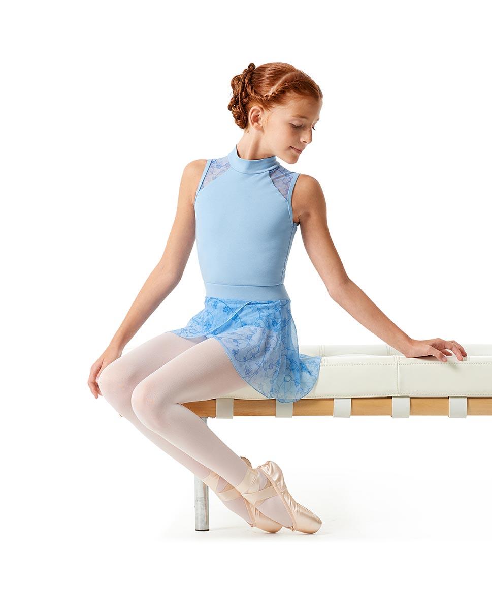 Girls Lace Dance Skirt Melania SKY