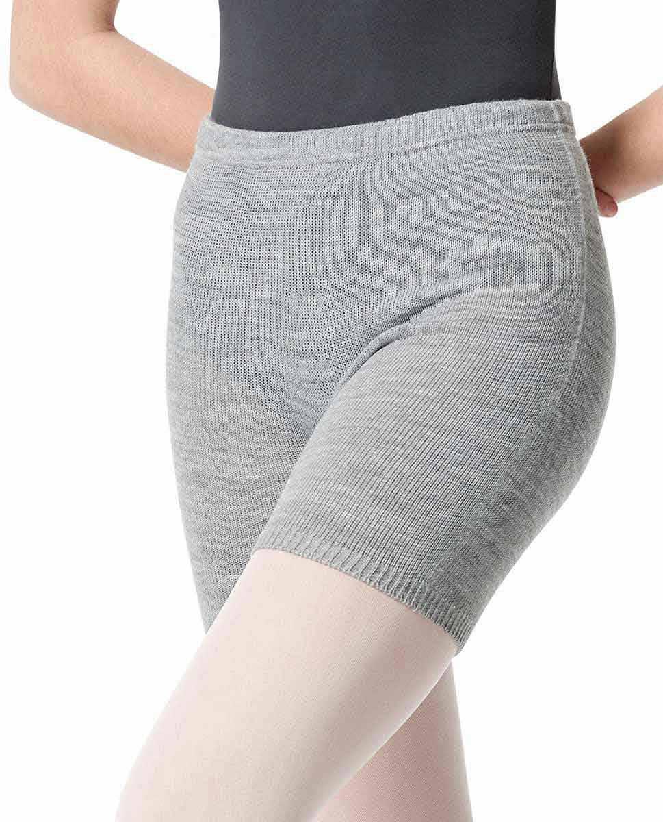 Knit Warm Up Dance Shorts GRE