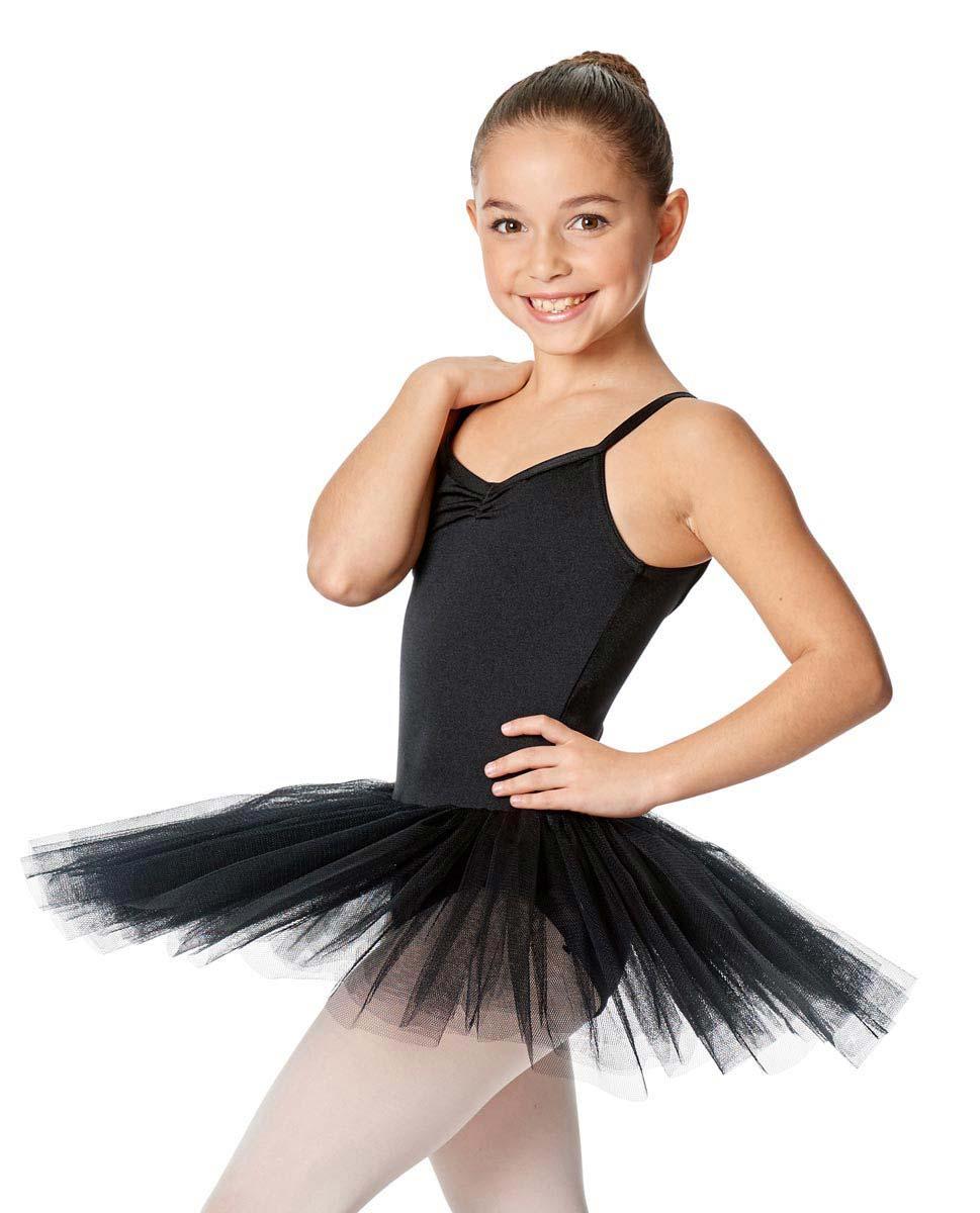 Child Camisole Tutu Ballet Dress Everly BLK