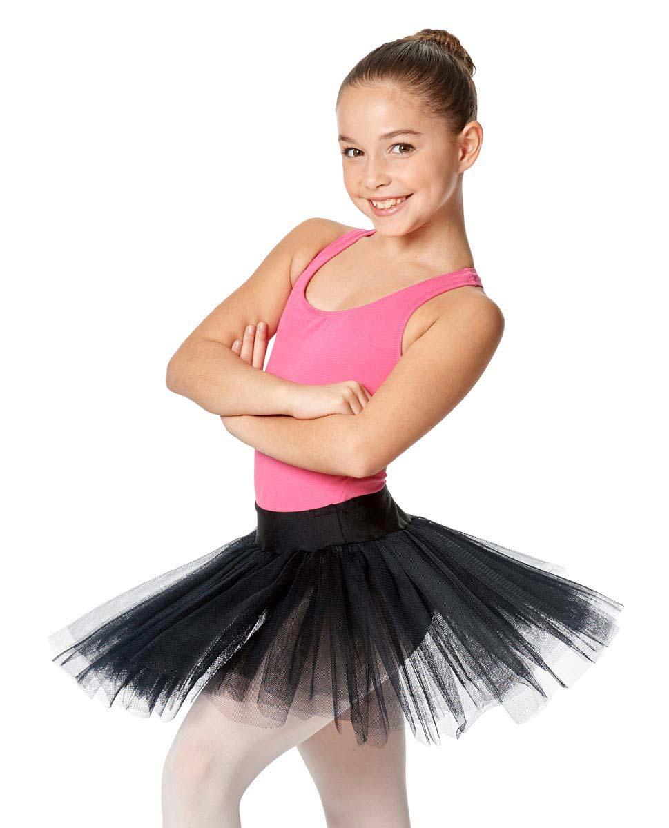 Child Ballet Tutu Skirt Jordyn BLK
