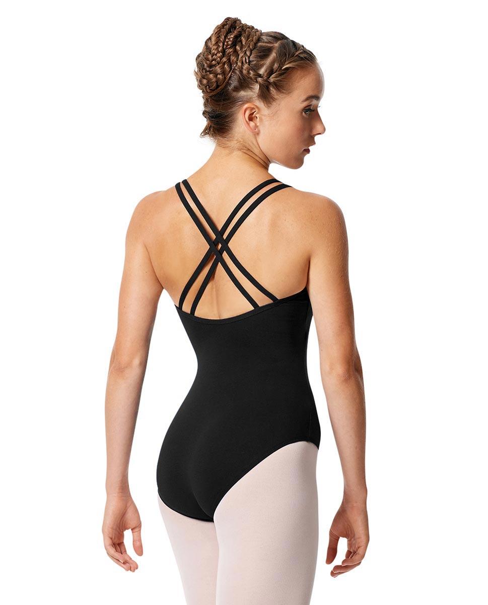 Womens Strappy Camisole Ballet Leotard Larissa back