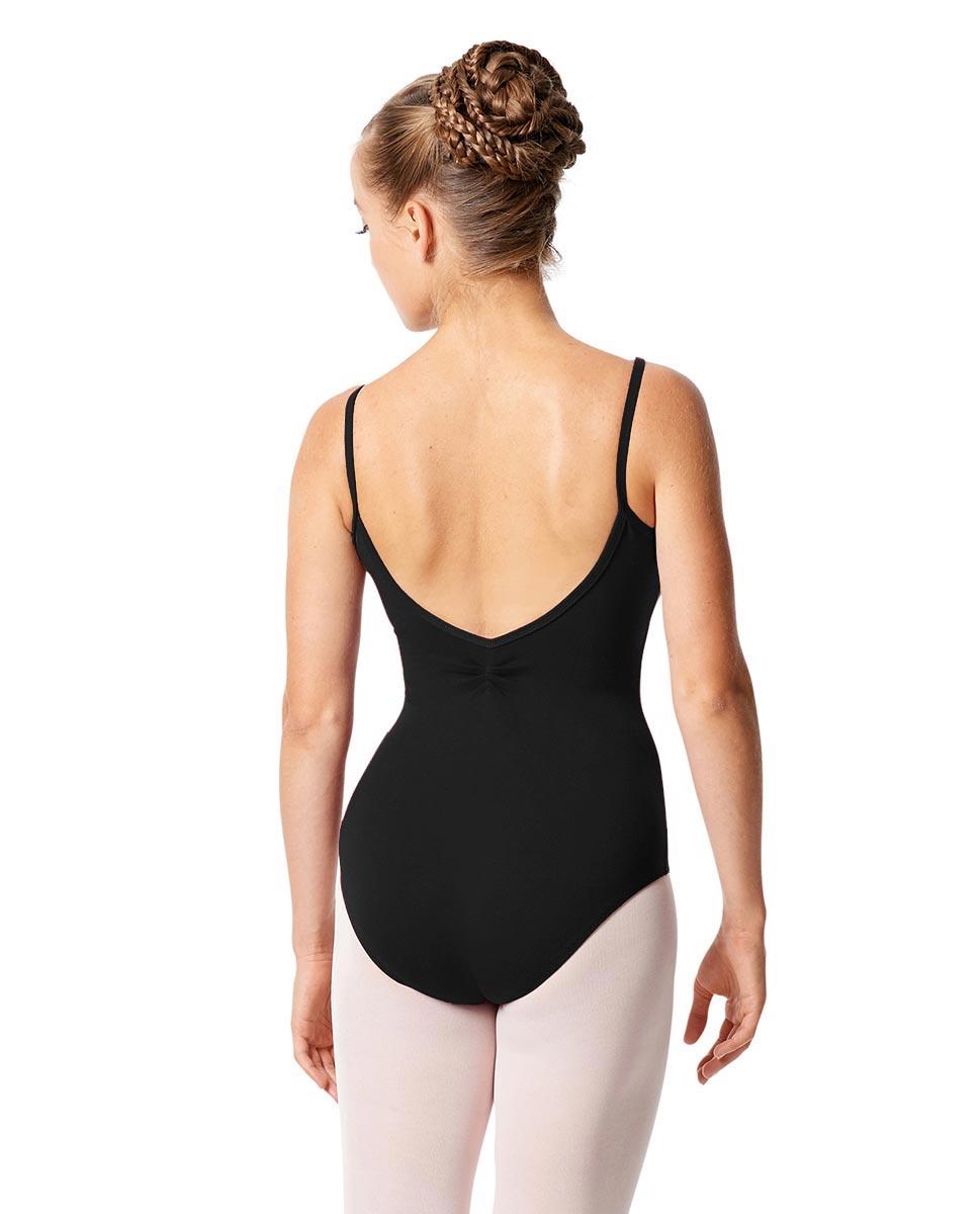Womens Pinch Camisole Ballet Leotard Faina back