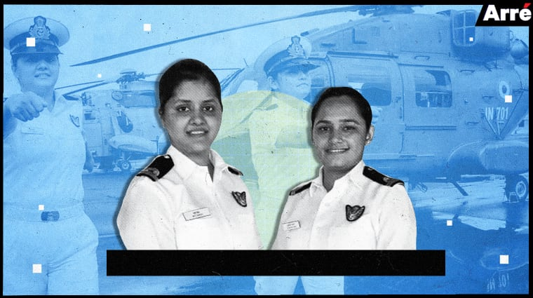 indiannavywarshipfirstwomenofficers