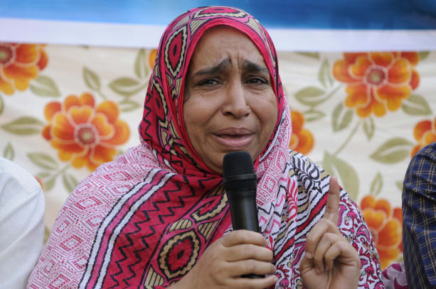 Family Members Of Mob Lynching Victims Get Together During Iftar