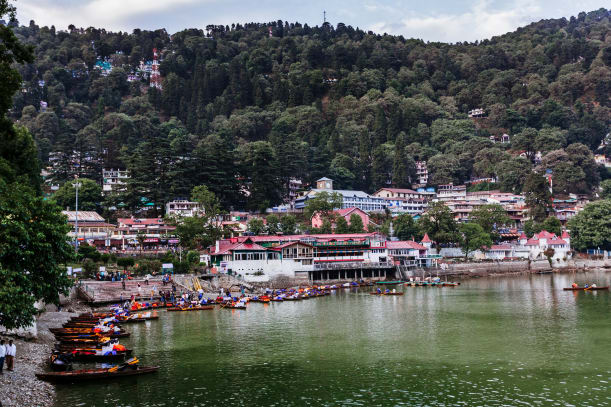 Travelling in the Hill Station of Nainital, Uttarakhand, India