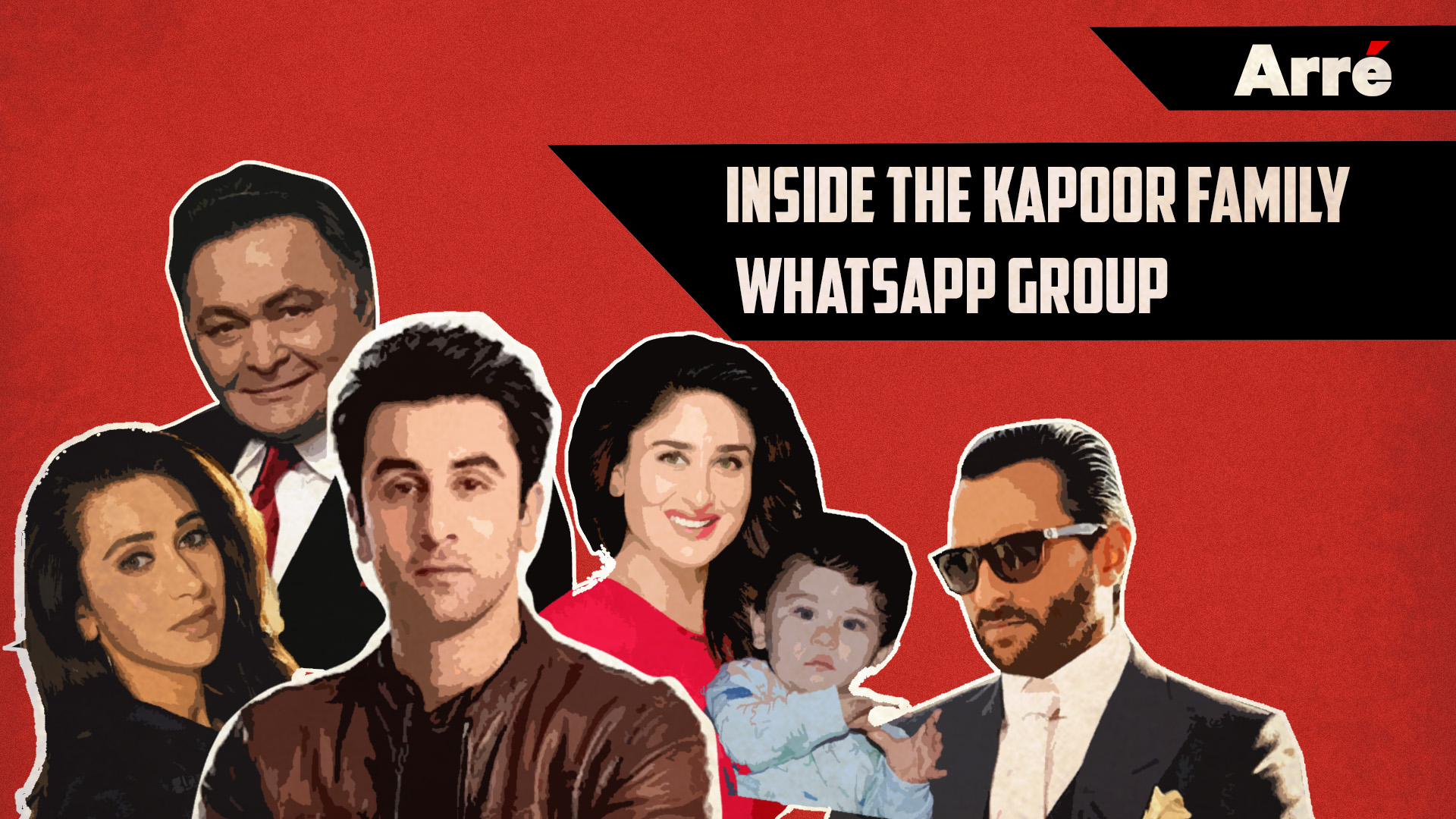 A Sneak Peek Into The Kapoor Family Whastapp Group As They