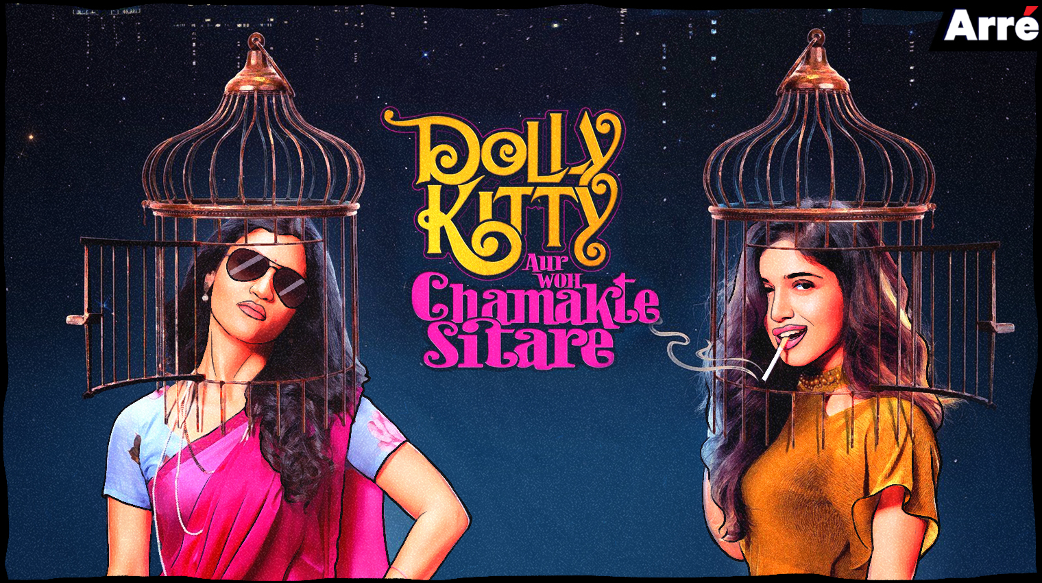 Netflix's Dolly Kitty Aur Woh Chamakte Sitare Review