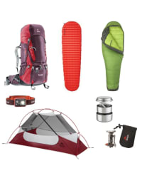 Backpacking Set for One