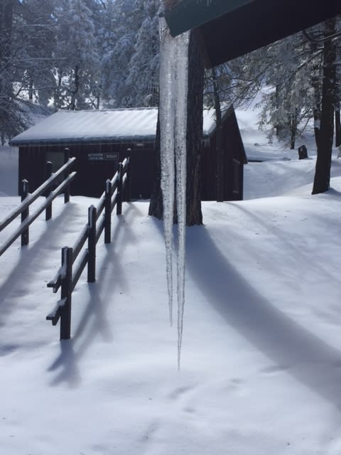 Tehachapi Mtn Camp Winter