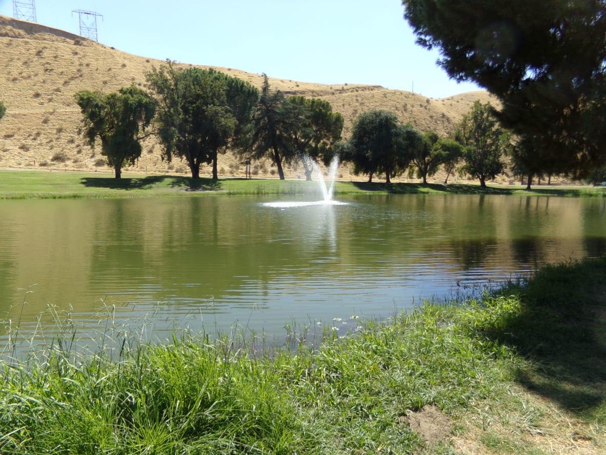 Mirror Lake at Hart Park