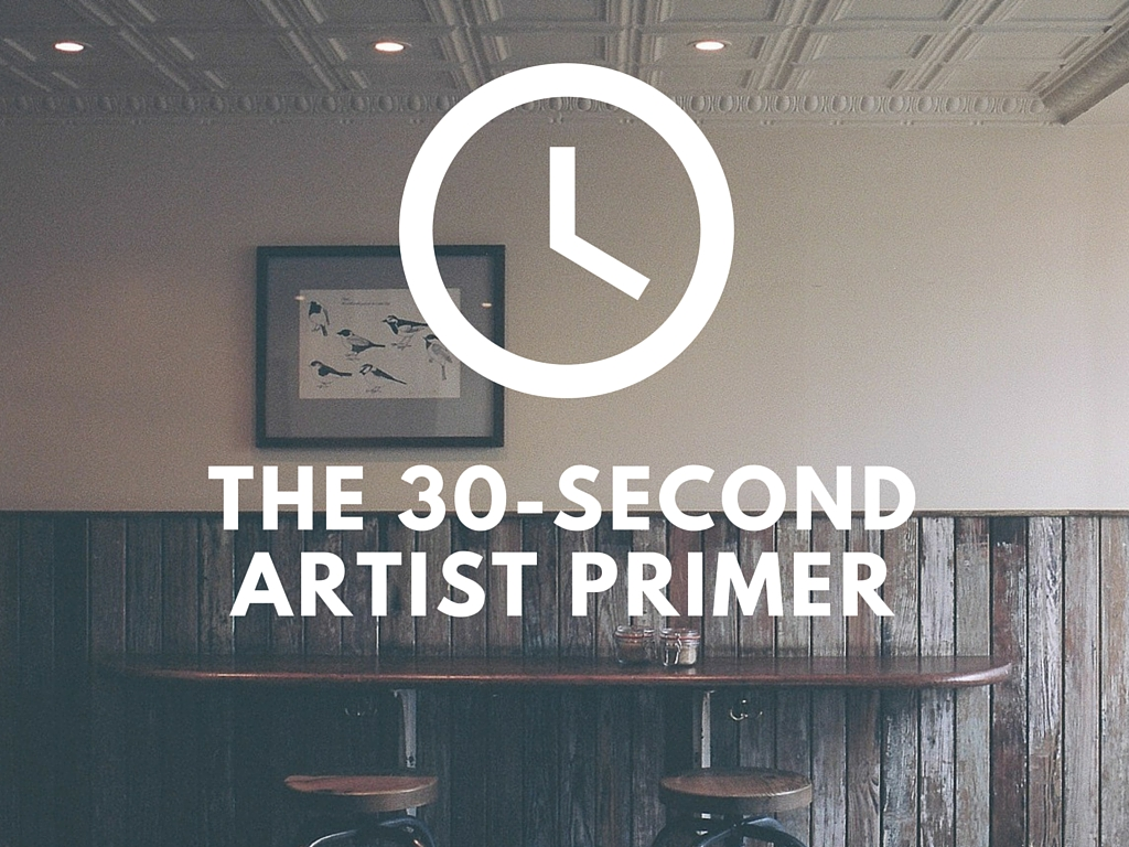 Paint + Primer: Pitch an Artist in 30 Seconds