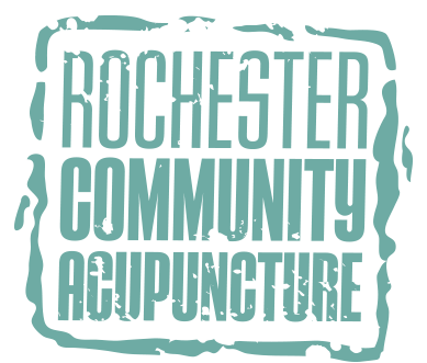 Rochester Community Acupuncture logo