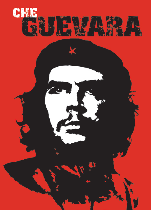 Che Guevara: Red Portrait Poster