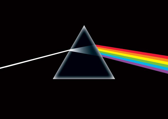 Pink Floyd: Dark Side of the Moon Landscape Poster
