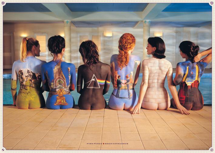 Pink Floyd: Back Catalogue Landscape Poster